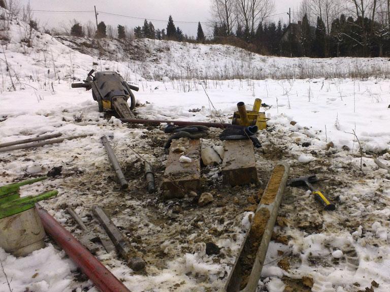 Wiercenia geologiczne - badania gruntu