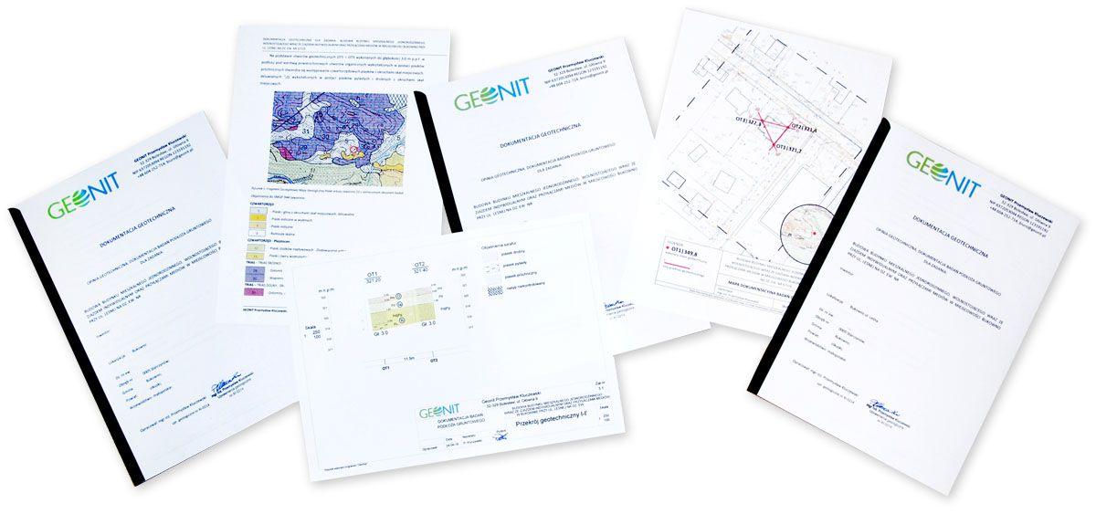 Dokumentacja geotechniczna - Geolog Olkusz